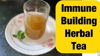 Herbal Tea/kadha To Boost Immunity. My Immune Building Tea For Common Cold,flu& Inflammation. Tulsi