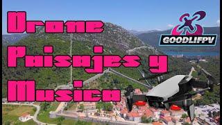 LOS MEJORES PAISAJES, DRONES Y MUSICA DJI MAVIC PHANTOM HOUSE MUSIC