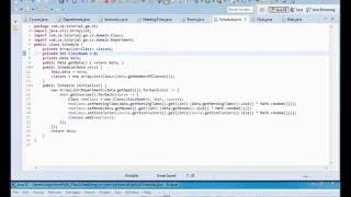 Genetic Algorithms Tutorial 04 - Class Scheduling JAVA Application