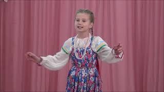 Экзамен ансамбля народной песни Солнышко, 24 мая 2019 г