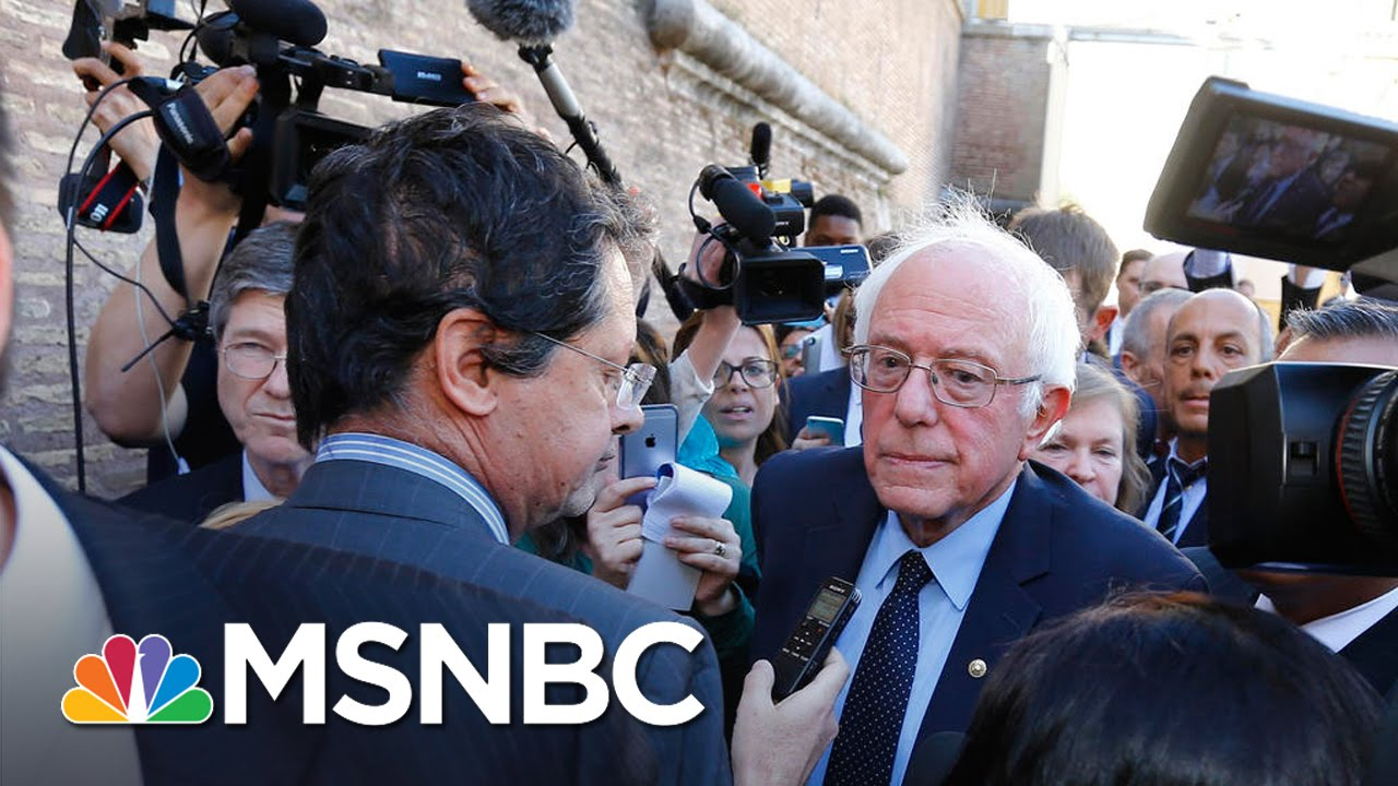 Bernie Sanders: Pope Playing 'Historical' Role In World Economy | MSNBC thumbnail