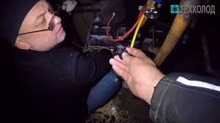 Ремонт камер шоковой заморозки