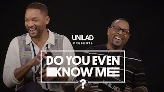 Will Smith And Martin Lawrence Put Their Friendship To The Test | Do You Even Know Me? | UNILAD