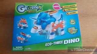 Интересные механические игрушки Greenex : динозавр