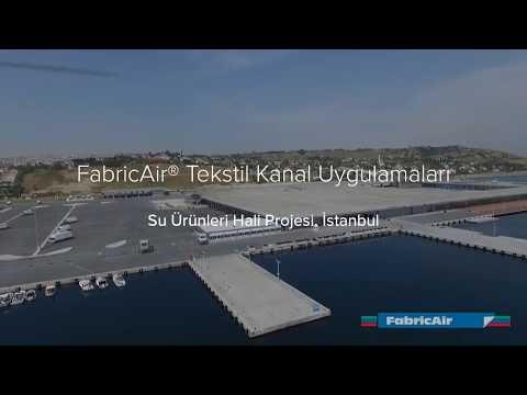 FabricAir Tekstil Hava Kanalı Uygulamaları - Su Ürünleri Hali