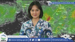 Prediksi Cuaca Jumat 8 Oktober 2021: BMKG Perkirakan 13 Daerah Hujan Lebat Disertai Angin Kencang