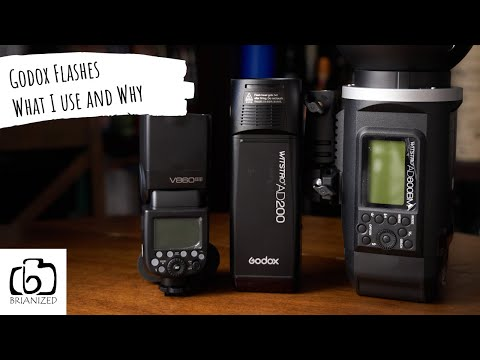 Godox AD600 AD200 and V860ii - What I use and Why