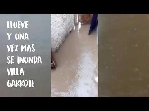 Villa Garrote bajo el agua