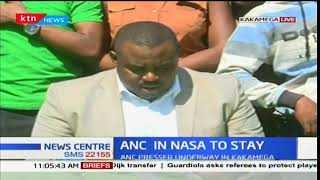 A section of ANC leaders defend their stay in NASA