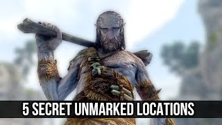 Skyrim 5 Secret Unmarked Locations That Are Not What They Seem