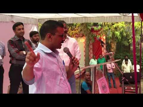 Delhi CM Arvind Kejriwal visit to Loha Mandi, Naraina Industrial Area