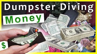 Found Money While Dumpster Diving #245 No Way!!!!