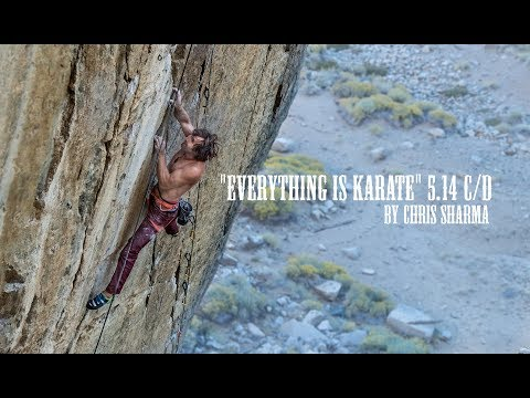 "CHRIS SHARMA ON ""EVERYTHING IS KARATE"" 5.14 C/D"