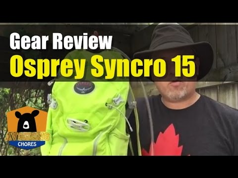 Good Backpack Option For Day Hikes The Osprey Syncro 15 Review