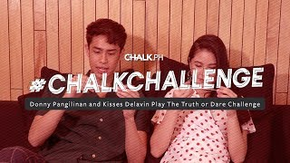 #ChalkChallenge: Donny Pangilinan And Kisses Delavin Play A Game Of Truth Or Dare