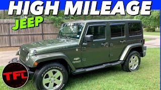 Is A Jeep Wrangler Reliable? Heres A Sahara With Over 300K MILES Still Going Strong! @Home Edition