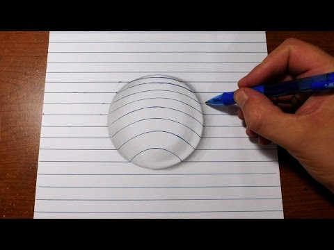 How to Draw 3D Art - Easy…