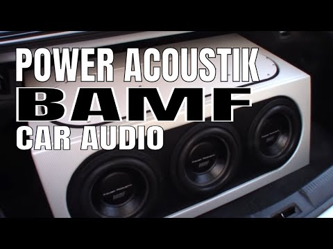 Power Acoustic Car Audio :  Power Acoustik BAMF Car Audio System Review