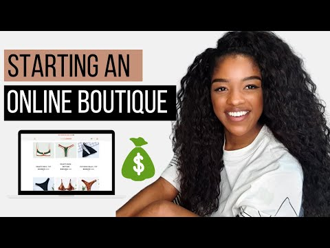 How to start an online clothing boutique with little to no money in 2021 - Online boutique tips