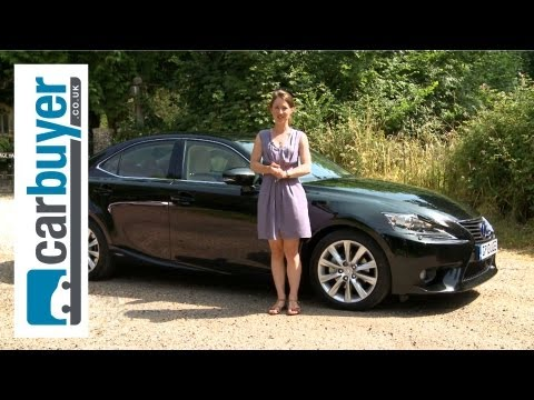 Lexus IS saloon 2013 review - CarBuyer
