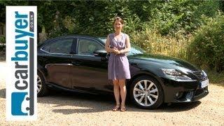 Lexus IS saloon 2013 review - CarBuyer