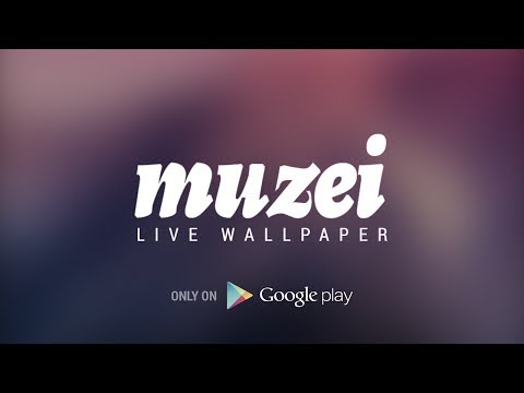 Muzei Rotates Android Wallpaper