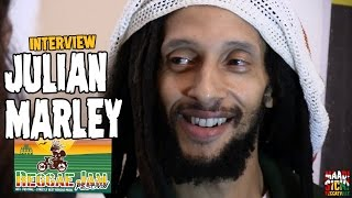 Julian Marley -  Interview @ Reggae Jam 2016