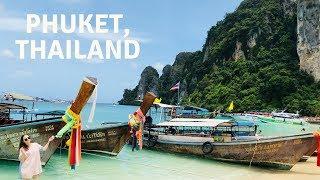 Phuket During Monsoon Season! |PHUKET, THAILAND VLOG P1|