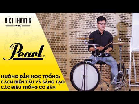 Hướng dẫn học trống: Cách biến tấu và sáng tạo trên điệu trống 8 beat cơ bản