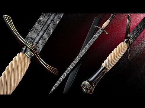 Making a Mosaic Longsword with an ABS Mastersmith - Kyle Royer