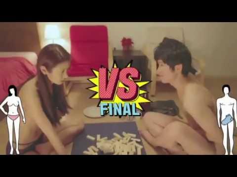 18+topless korea uno strip
