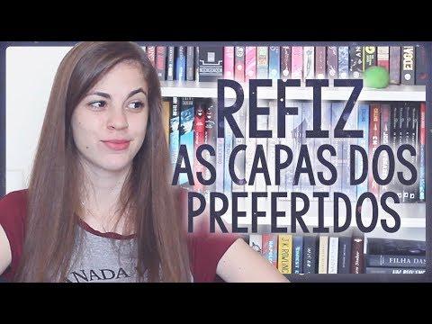 REFAZENDO CAPAS 2 | Livros Preferidos