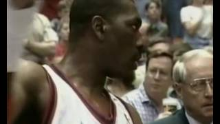 1997 NBA playoffs wcsf game 7 Seattle Supersonics-Houston Rockets