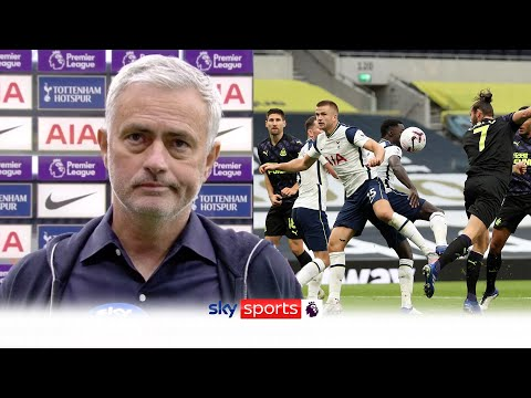 Jose Mourinho reacts to Newcastle draw & controversial handball | Spurs 1-1 Newcastle | Post Match