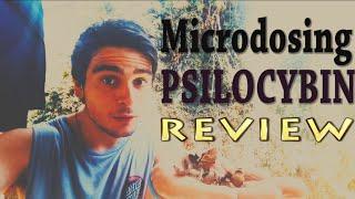 Microdosing PSILOCYBIN Mushrooms Experiment || REVIEW