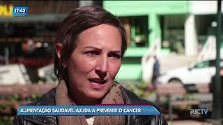 Conversando Sobre o Câncer: alimentação saudável ajuda a prevenir o câncer