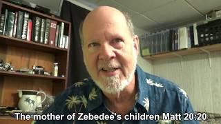 The Mother of Zebedee's Children - Matt 20:20-28