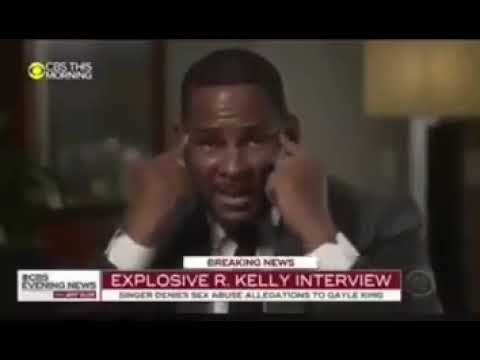 R.KELLY BREAKS DOWN! NEW GAYLE KING INTERVIEW