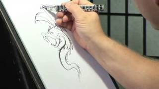 How To Draw Chinese Dragon Tattoos