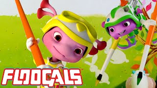 Floogals Learn to Paint and Make New Colors!   Floogals   Universal Kids