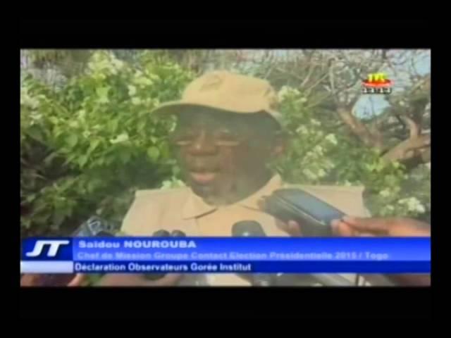 TOGO - Déclaration de l'équipe des Observateurs de Gorée Institut en mission d'observation pour les présidentielles