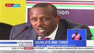 Duale's BBI Take: Majority Leader Aden Duale claims BBI rallies compromised
