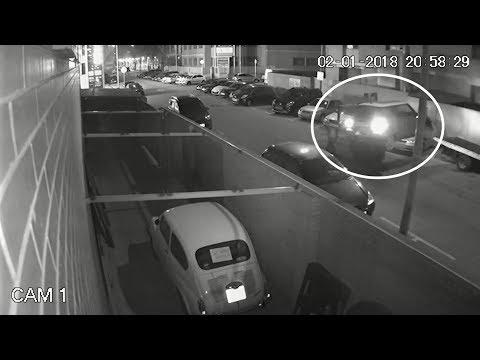 Espectacular robo de un coche en el Prat del Llobregat