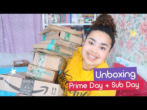 Unboxing Prime Day, Sub Day e Americanas (+ 18 livros novos) | Estrelado