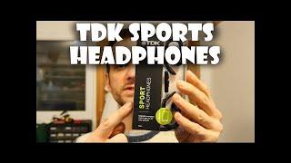 TDK SB40s Sports Headphones Review