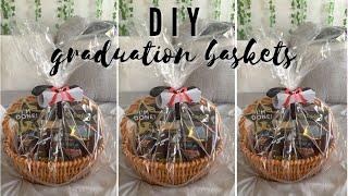 DIY: Make Graduation Baskets with Me | Easy & Affordable Graduation Gift Ideas 2021 | TayLizz