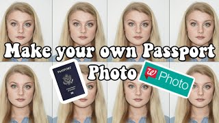 How to make your own passport photos | Cheap DIY | Taking and Printing them