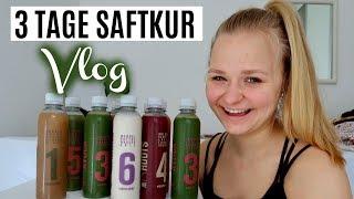 3-Tages-Saftkur/Juice Cleanse Vlog (Erfahrung & bringt es was?) // Miss Aliana
