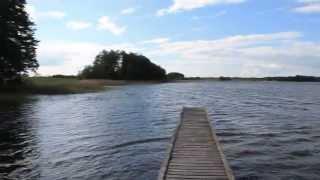preview picture of video 'Jezioro Moj, dzika plaża: tu odpoczywam :-)'
