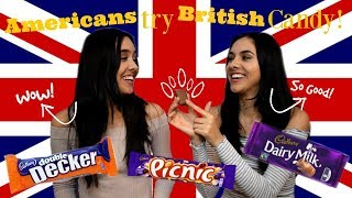 Americans Try British Candy!